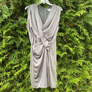 Helmut Lang size 4 gray dress